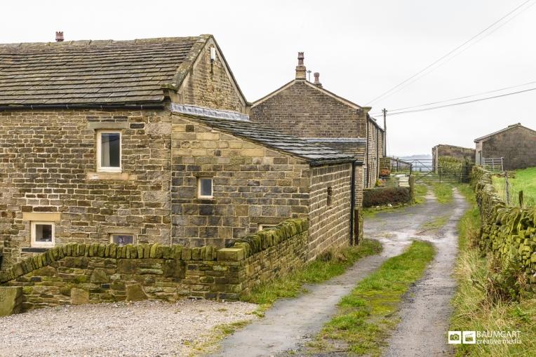 Holmfirth Yorkshire England by Jeff Baumgart