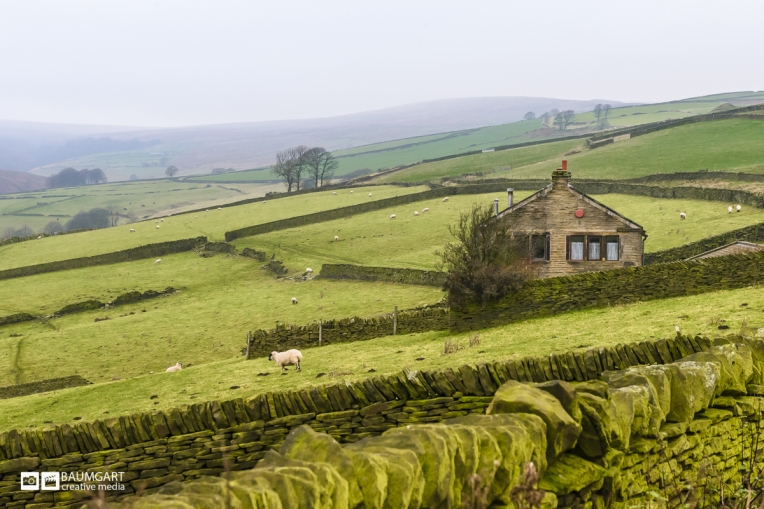 Yorkshire English Countryside by Jeff Baumgart